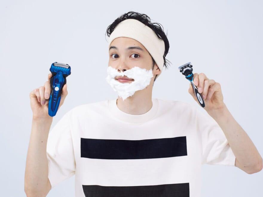 T字カミソリ? 電動シェーバー? 僕らのひげ剃りの悩みを考察する!