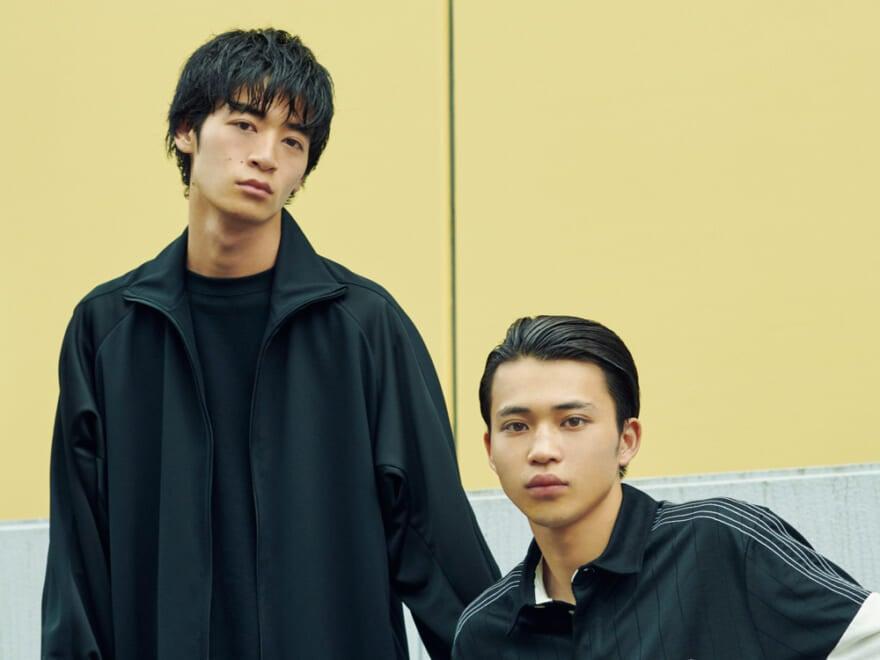 メンズノンノモデル  360°写真つき  秋のヘアスタイル、若林拓也・中田圭祐登場!