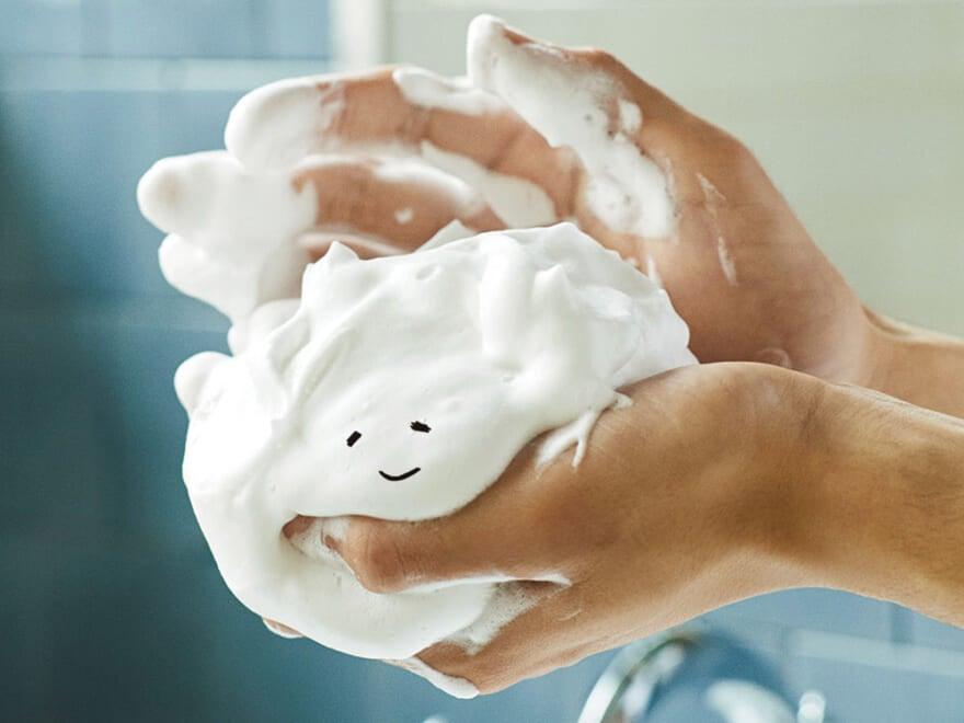 洗顔を変えれば自分が変わる! 泡だて・洗う・流すの3ステップを極めよ!