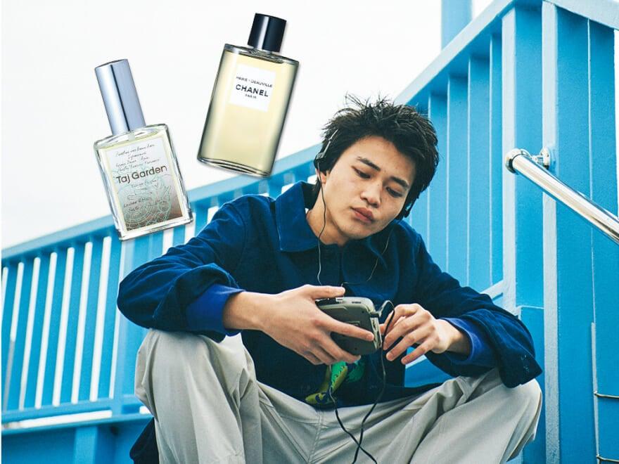 【Wed】 香水は毎日気分に合わせる。水曜日は軽やかな香りでリフレッシュしたい