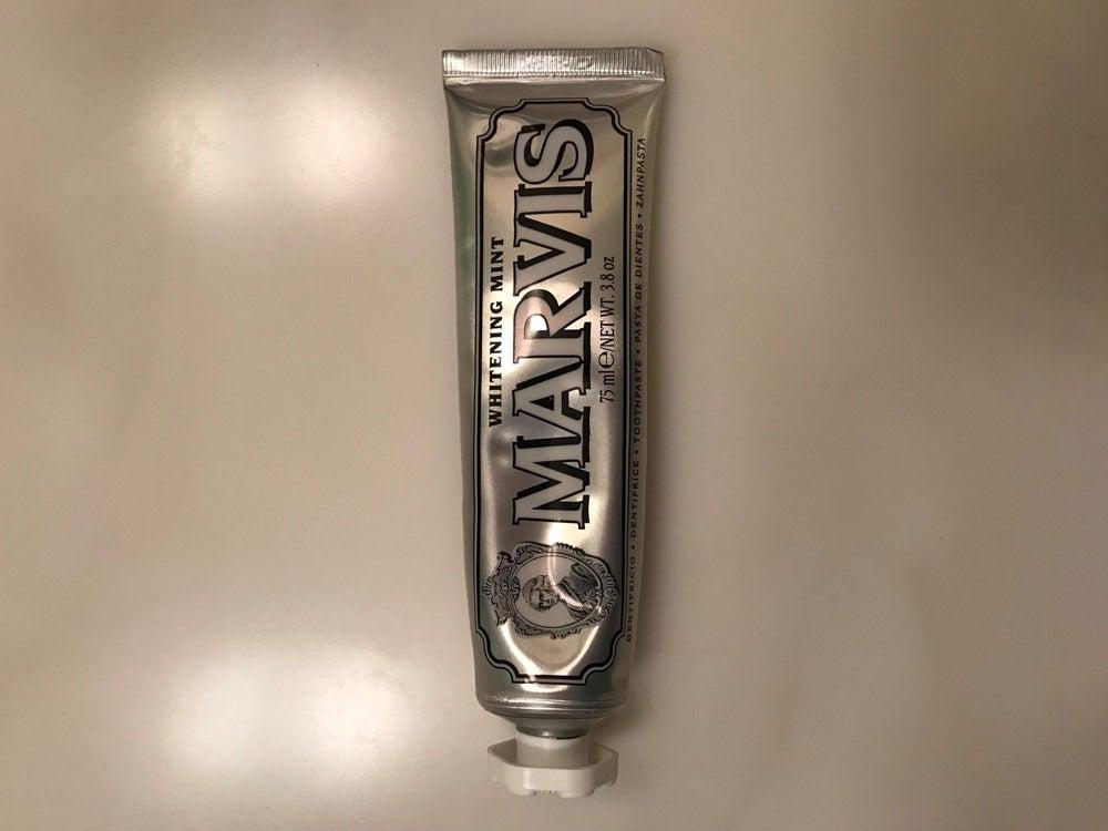 歯がツルツルになるお気に入りの歯磨き粉は「MARVIS」~GOOD THINGS by TMNB
