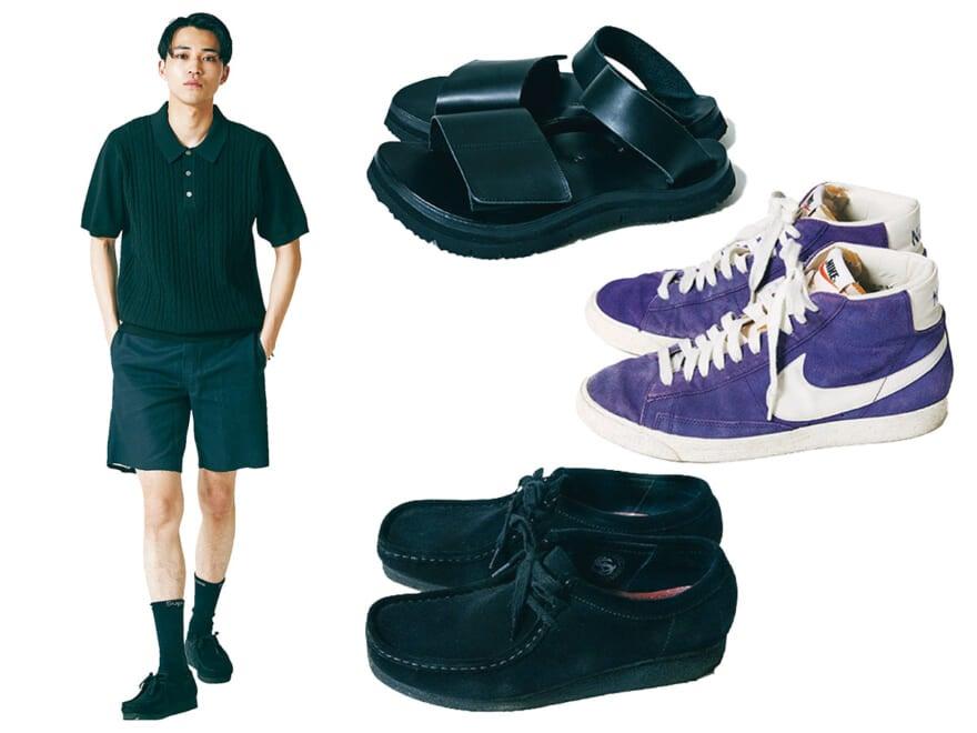 ショーツに合わせる足元は? サンダル、スニーカー、革靴、最旬の着こなし実例10