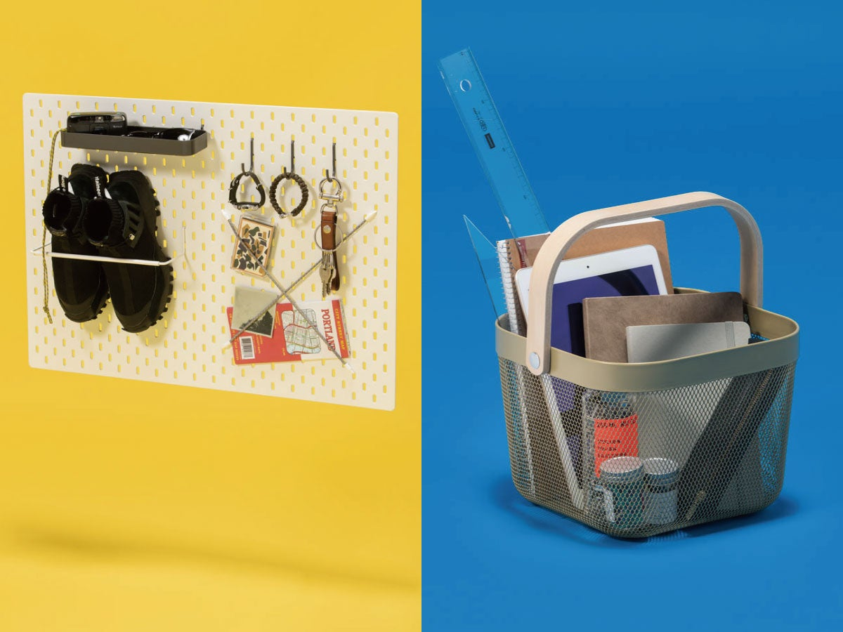 "IKEAのアイテムで実践! インテリアスタイリストが教える、ちょっと意外な""見せる収納術"""