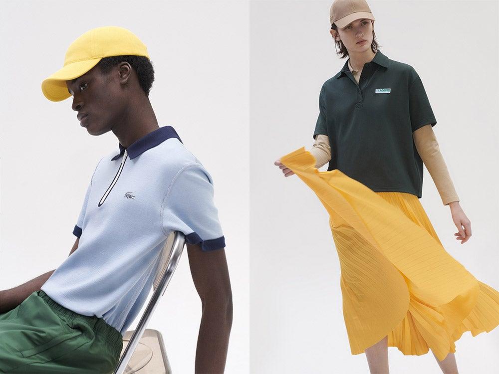 ラコステ新作はシックな色合いのスポーツミックスが楽しいポロシャツやTシャツ!