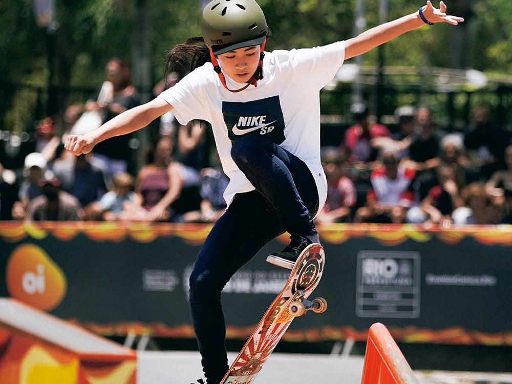 弱冠15歳のスーパー中学生、中山楓奈。東京五輪も期待の女子スケーターの夢は?