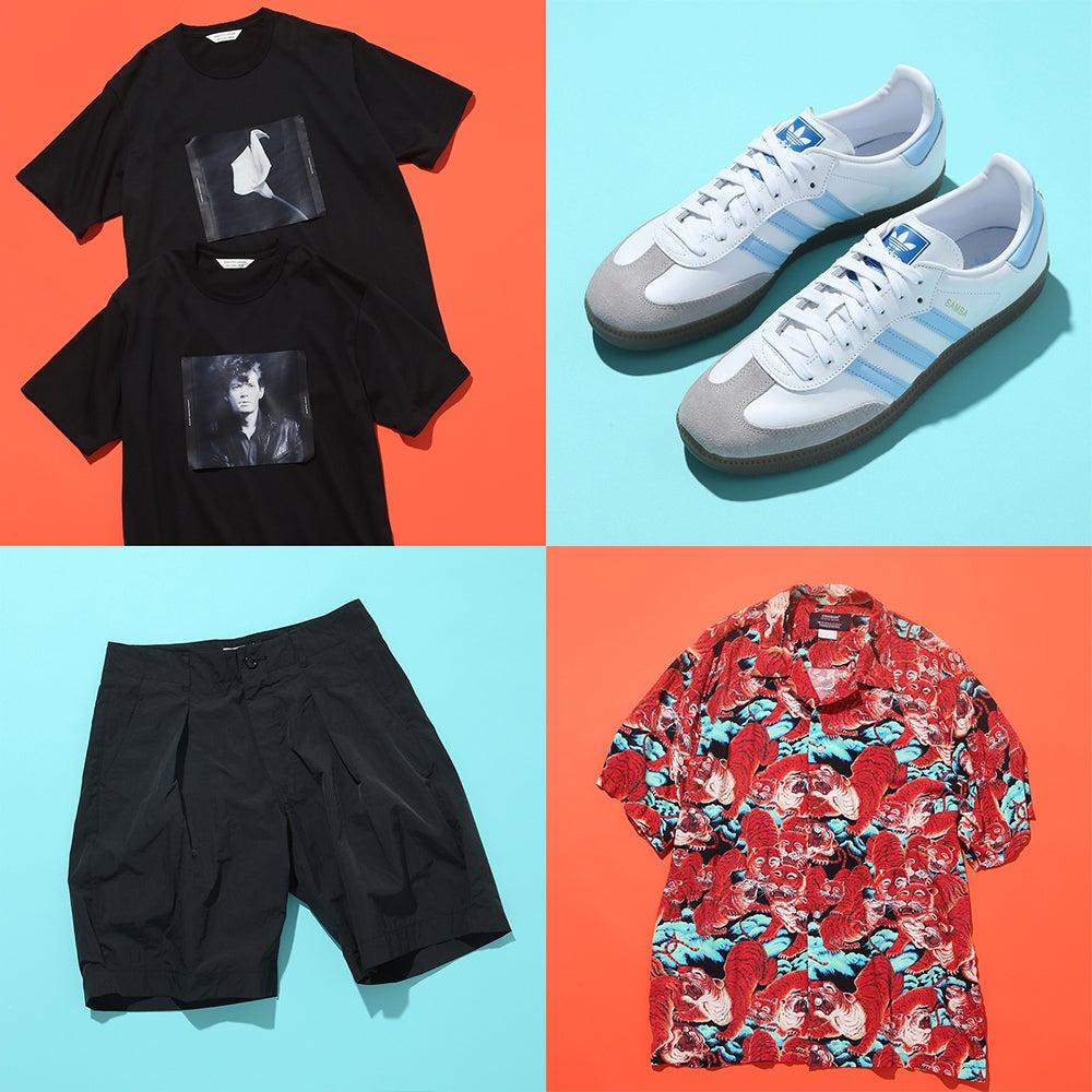 Tシャツ、ショーツ…夏の黒が使える!  おしゃれ男子が8月前半に買ったもの6選
