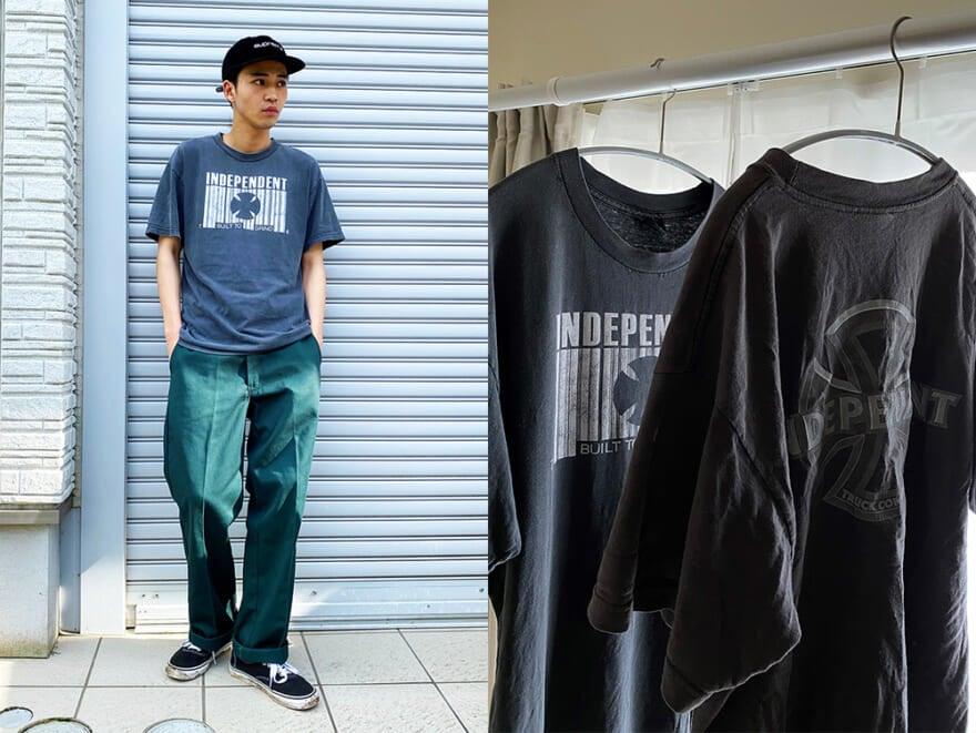 中田圭祐は偏愛スケートブランドのTシャツを5000円で奄美で発見!?【おしゃれ男子の古着愛!】