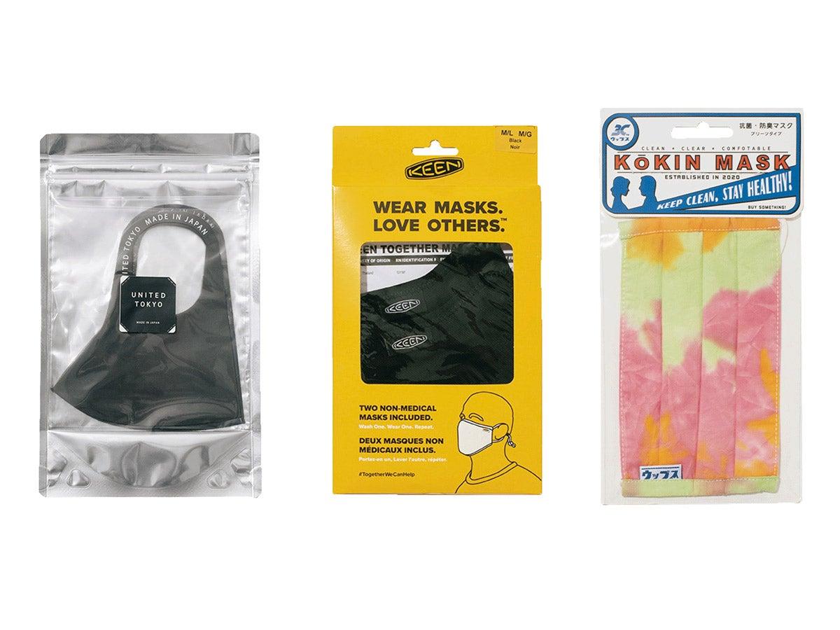 見た目もおしゃれなパック付きマスク5選。冷感、携帯に便利、耳が痛くなりにくい!