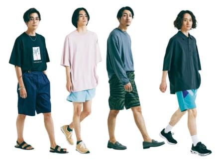 夏のショーツをおしゃれにはく方法10選。合わせるならシャツとTシャツ、どっち?