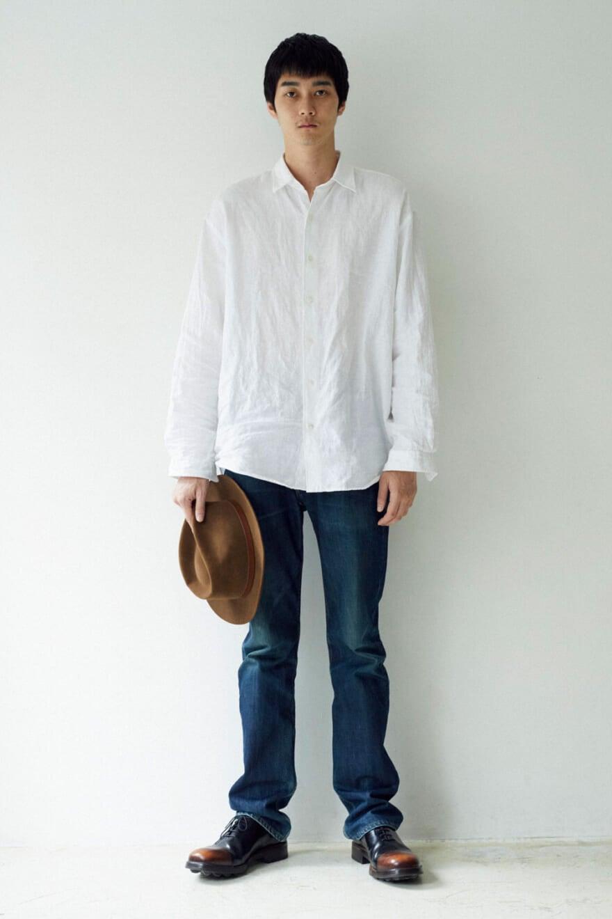 栁俊太郎はラフなシャツ×ジーンズのアメリカンクラシックなコーデが気分!