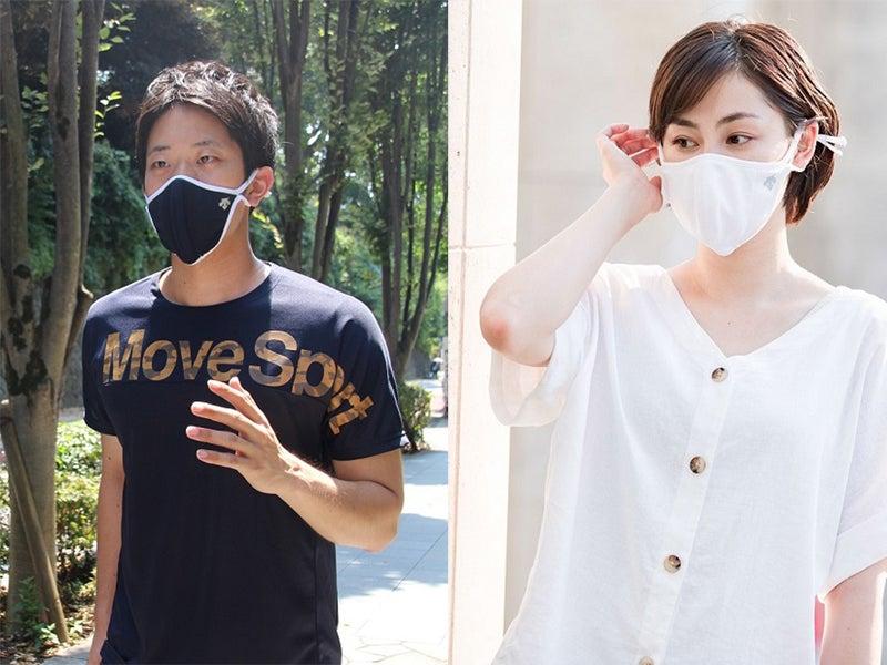 息苦しさとムレを抑制! デサントのマスクはスポーツシーンでも快適