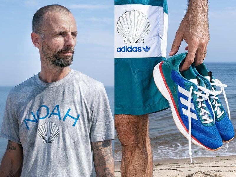 アディダス×ノア! 海を想うサステナブルなコラボは色鮮やかなスニーカーやTシャツ