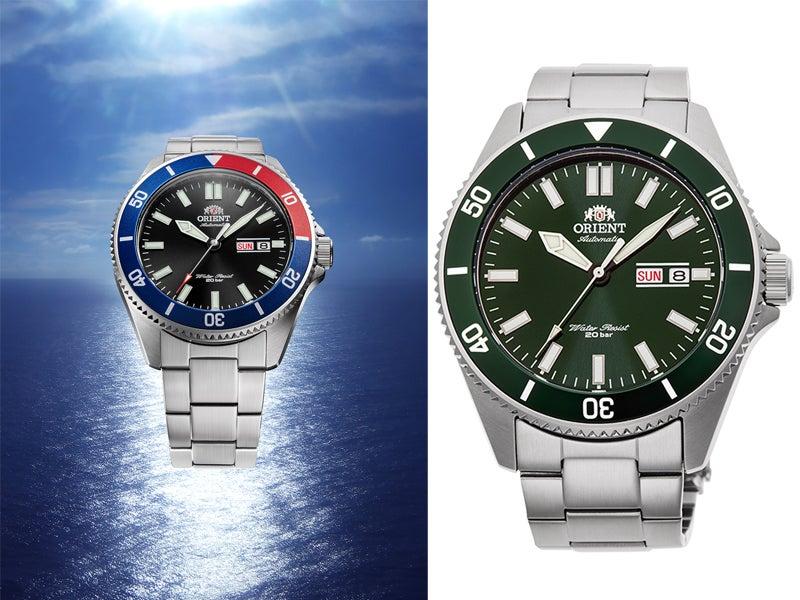 機械式時計なのに4万円以下! オリエントからダイバーデザインの新色時計が発売