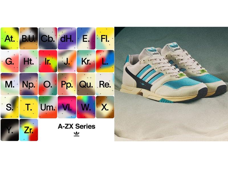 全26足の「A-ZX」シリーズ第1弾! アディダスのレトロなスニーカーが発売