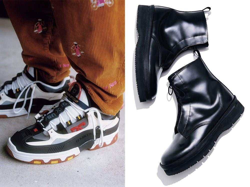 トーガもダブレットも! 今すぐ買いたい超人気ブランドの靴とスニーカー4選