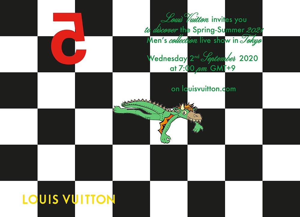 ルイ・ヴィトンの東京開催コレクションショーを2日(水)19時よりライブ配信!