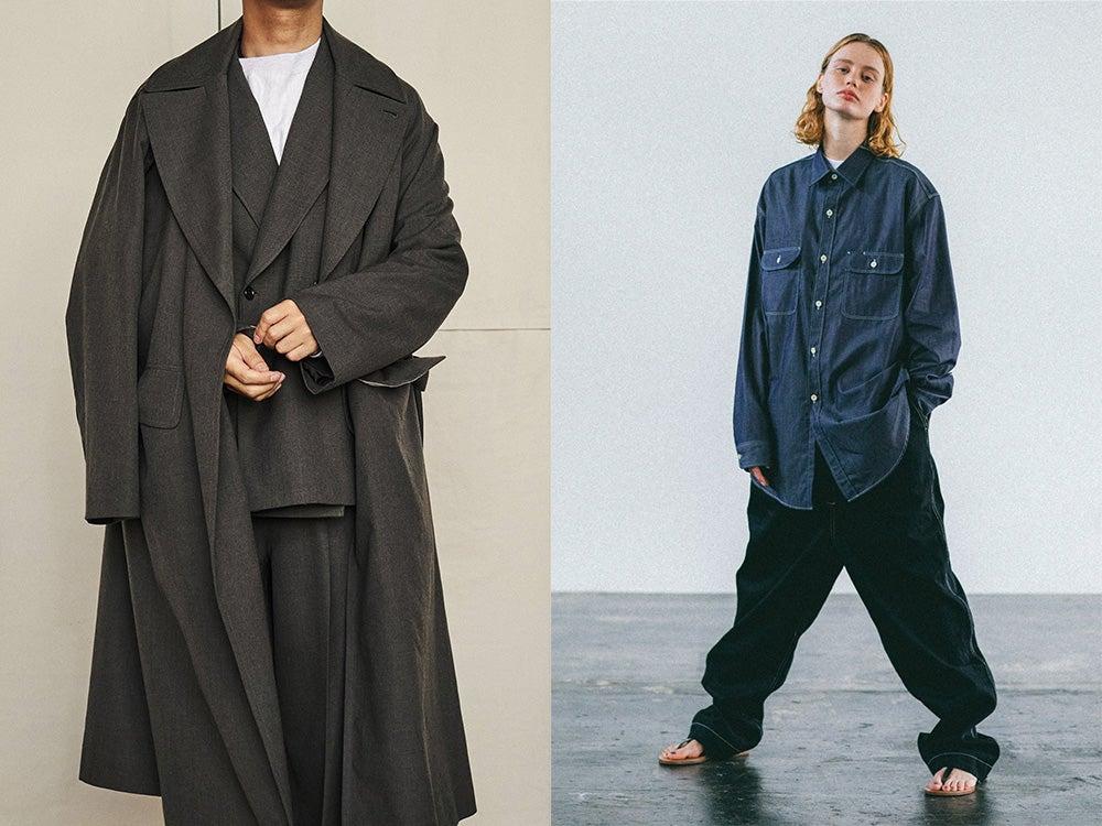 ブラームスの大人コートとブラームス ルーツストックの洗練ワークシャツに注目!