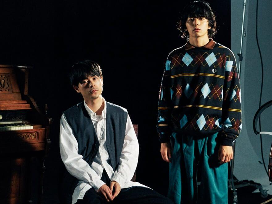 成田凌、井上翔太が着こなすクラシックスタイルの世界を動画でチラ見せ
