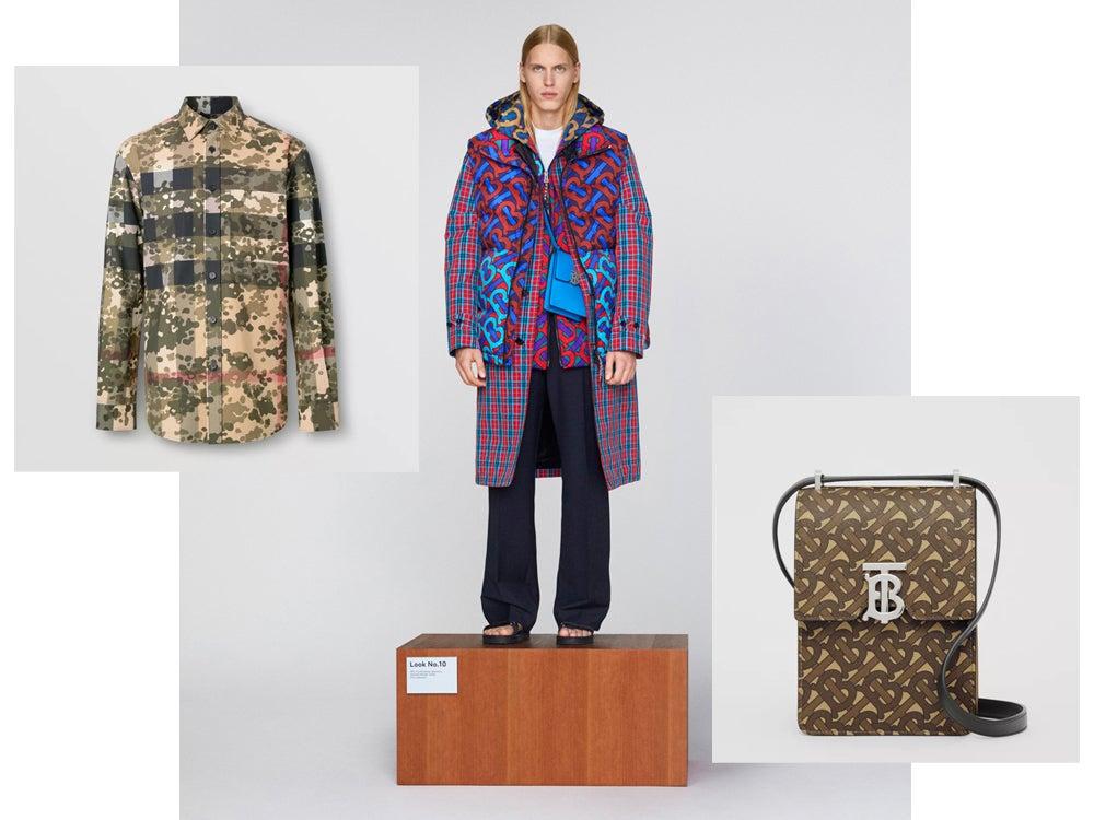 バーバリー メンズのポップアップストアで限定カモフラシャツとロゴバッグが発売!