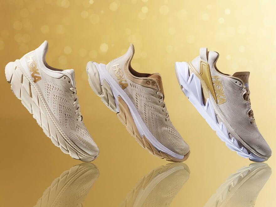 ホカ オネオネの新作スニーカーは秋らしい大人カラーにゴールドの差し色が光る!