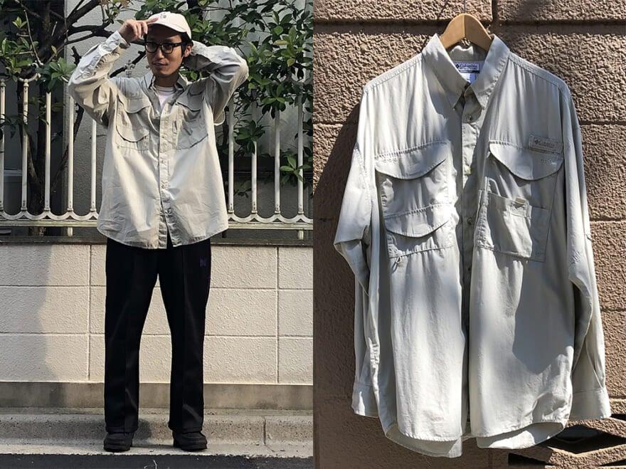 安い! 3800円のフィッシングシャツは高円寺で購入【おしゃれ男子の古着愛!】