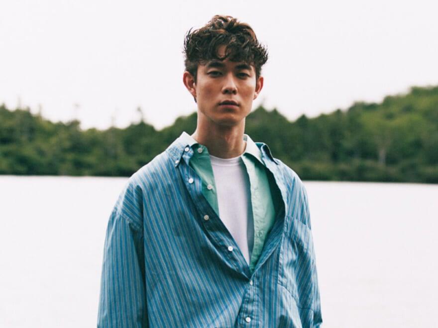 この秋、シャツの重ね着がおしゃれすぎる! 宮沢氷魚が着こなす、3つのコーデサンプル