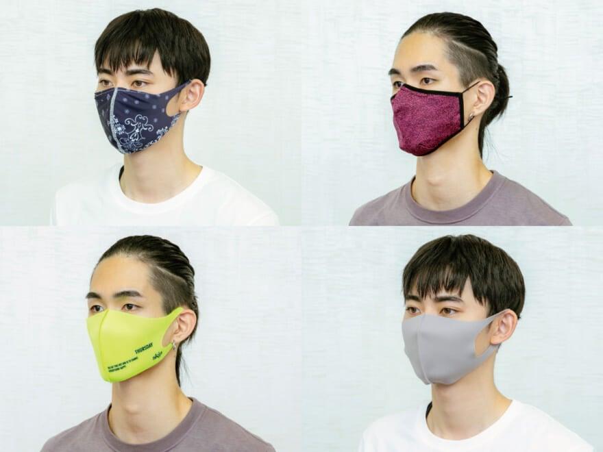 ZOZOで買った!人気10ブランドのおしゃれマスクを、メンズノンノモデルがつけ比べてみた
