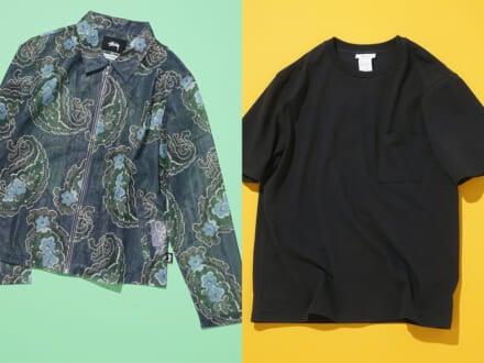 ステューシーのジャケットにゆるTシャツ! おしゃれ男子が9月前半に買った6選