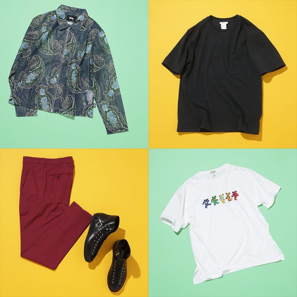 ステューシーのジャケットにゆるTシャツ! おしゃれ男子が9月に買った6選