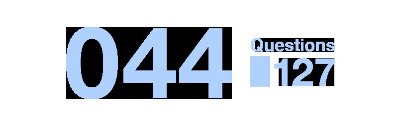 044/Questions127