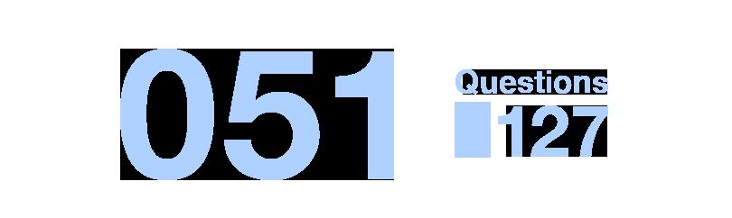 051/Questions127