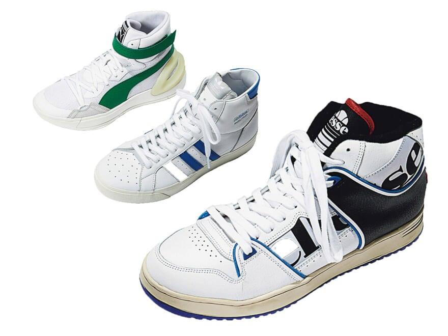 【スニーカー6選】アディダス、ナイキ、プーマ…人気ブランドの「白いバッシュ」がアツい!