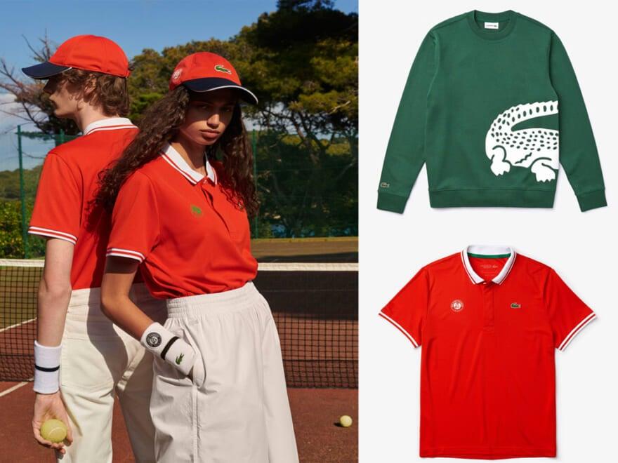 テニスウェアをデイリーにアップデート。「ラコステ」の新作ポロシャツは街で着る!