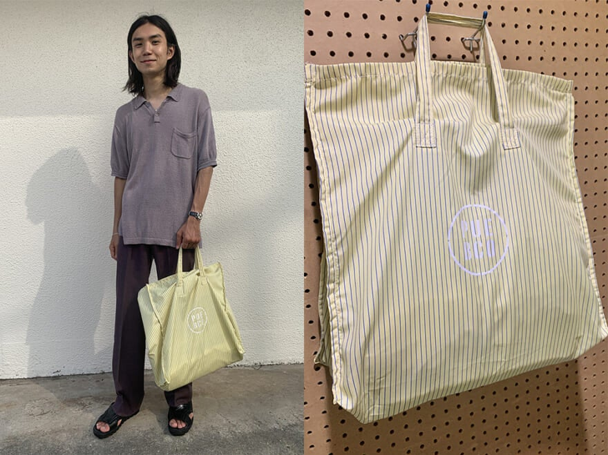 シャツ生地でおしゃれなエコバッグが2000円!【オレ一番の安いモノ自慢】