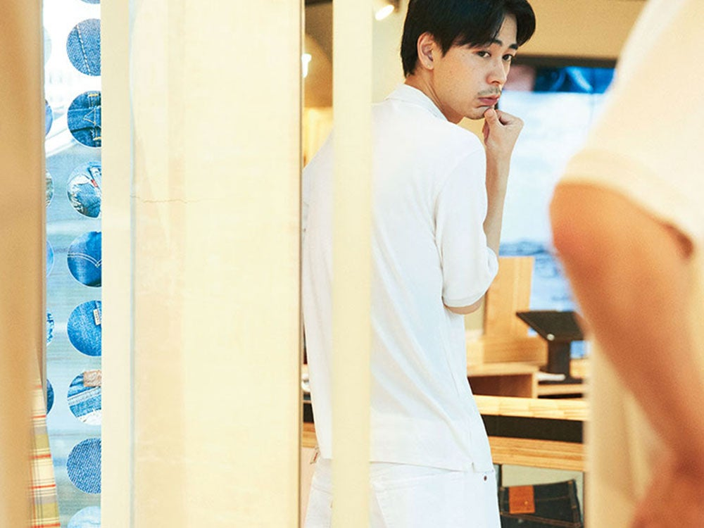 成田 凌が最愛デニムをカスタマイズ。「リーバイス® テーラーショップ」でできること