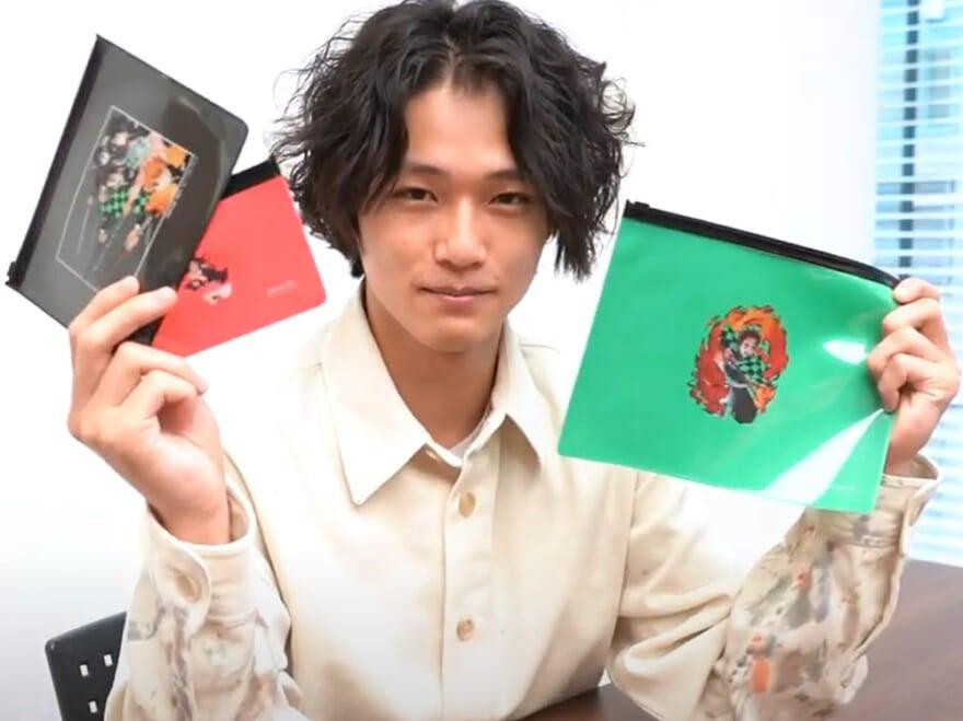 本日発売! 特別付録「メンズノンノ×鬼滅の刃」スライダーケースを中川大輔が紹介!