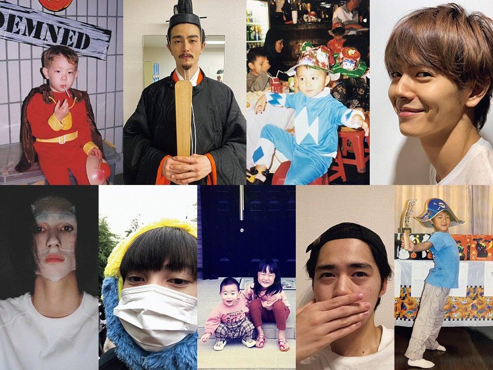 可愛い過ぎる幼少期! 宮沢、中田、若林・・・メンズノンノモデルのとっておきハロウィンの思い出