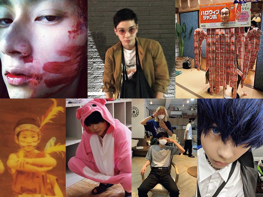 意外に地味だった!?  栁、成田、鈴木、守屋…メンズノンノモデルのハロウィンって?