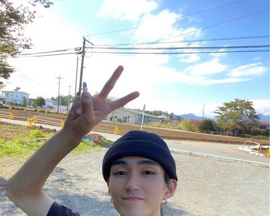 富士山の麓で大自然を感じながら散歩。心が和らぎます…。