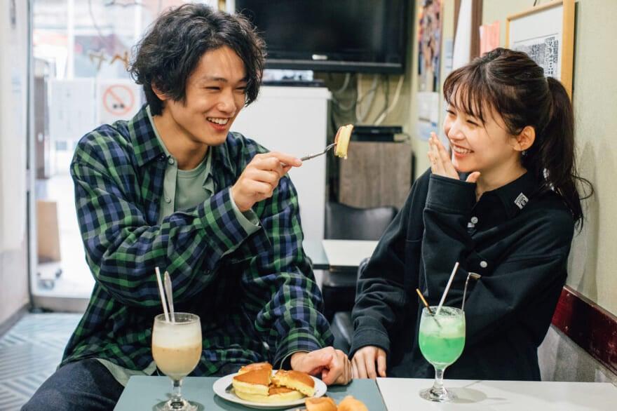 久間田琳加×中川大輔の浅草食べ歩きデート、ウェブ限定カットとメイキングムービーを特別公開!
