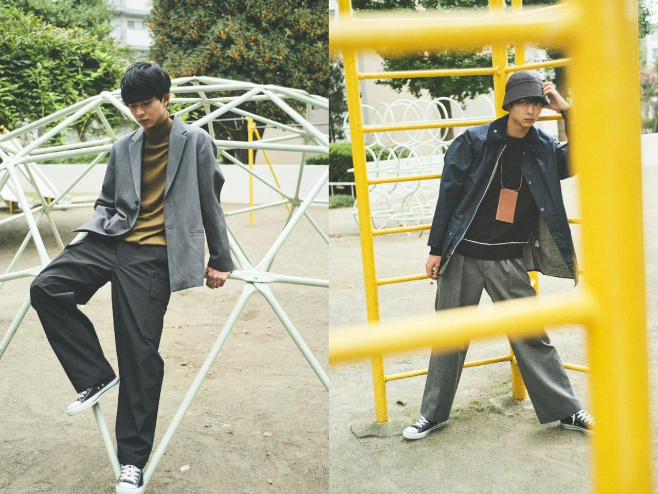 超定番スニーカー【コンバースのオールスター】を、最大限今っぽく履く方法。