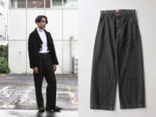 1万円の岡山デニムはモダンなシルエットで何にでも合う!【オレの安いモノ自慢】