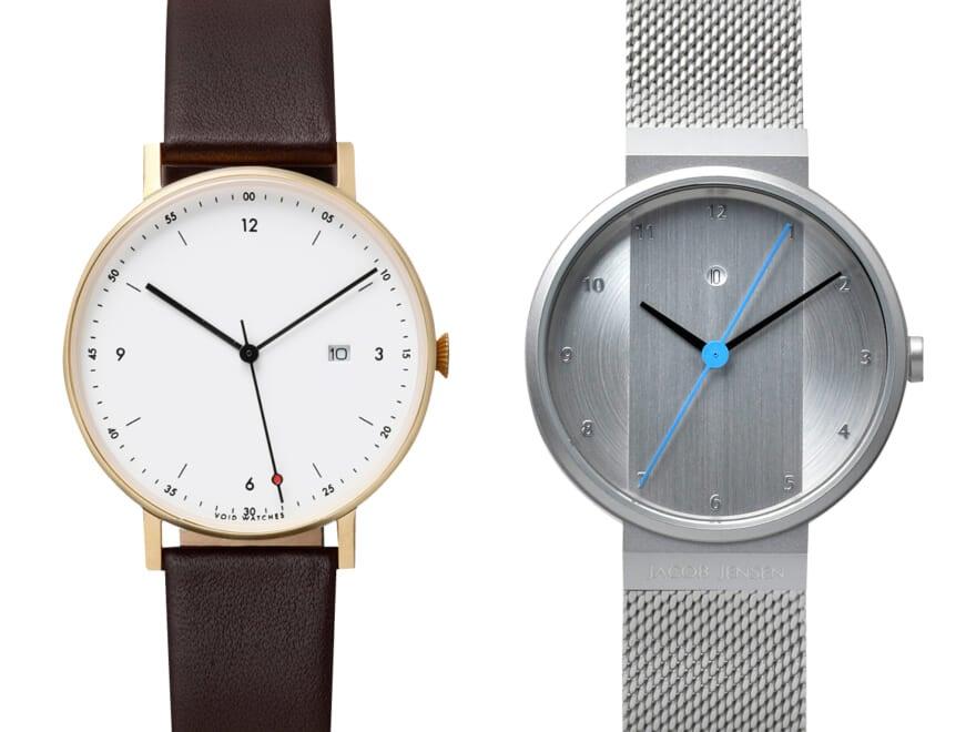シンプルに、自分らしい腕時計!北欧ミニマルデザインウォッチ4選