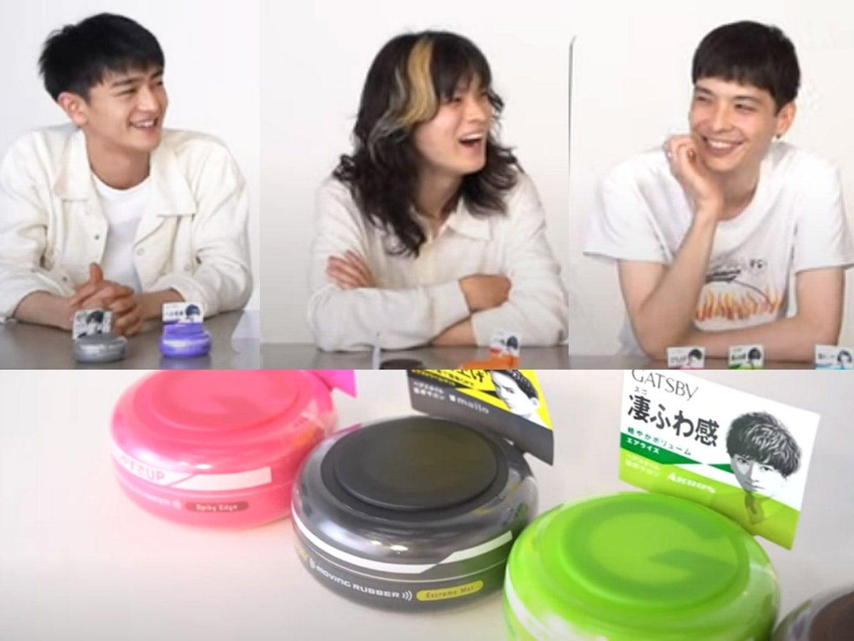 【動画あり】メンズノンノモデルとRyutaroさん座談会。男子はヘアワックスをどう使うか?