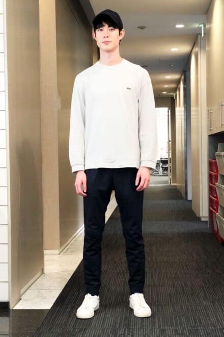 宮沢氷魚のロケ着のこだわりは「着替えやすさ」!