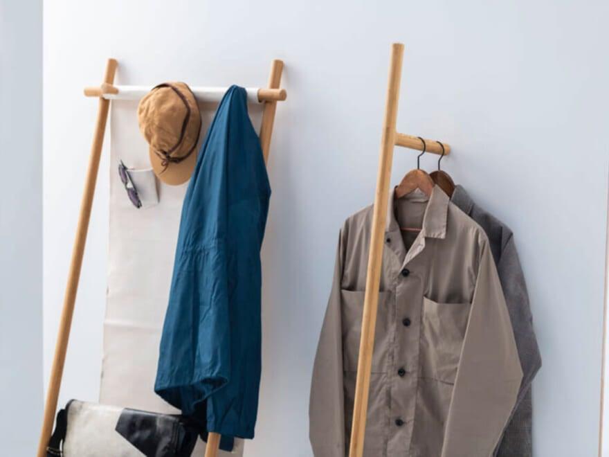 狭い部屋でも即効おしゃれ!【洋服収納】のインテリアアイデア4選