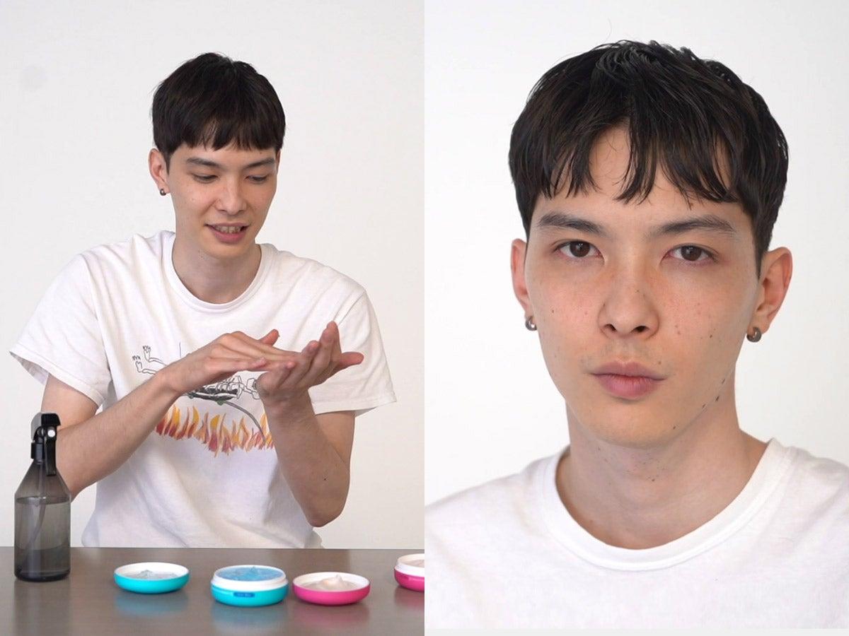 【動画あり】守屋光治がセルフでヘアスタイリング。Ryutaroさんのお直しにも注目!