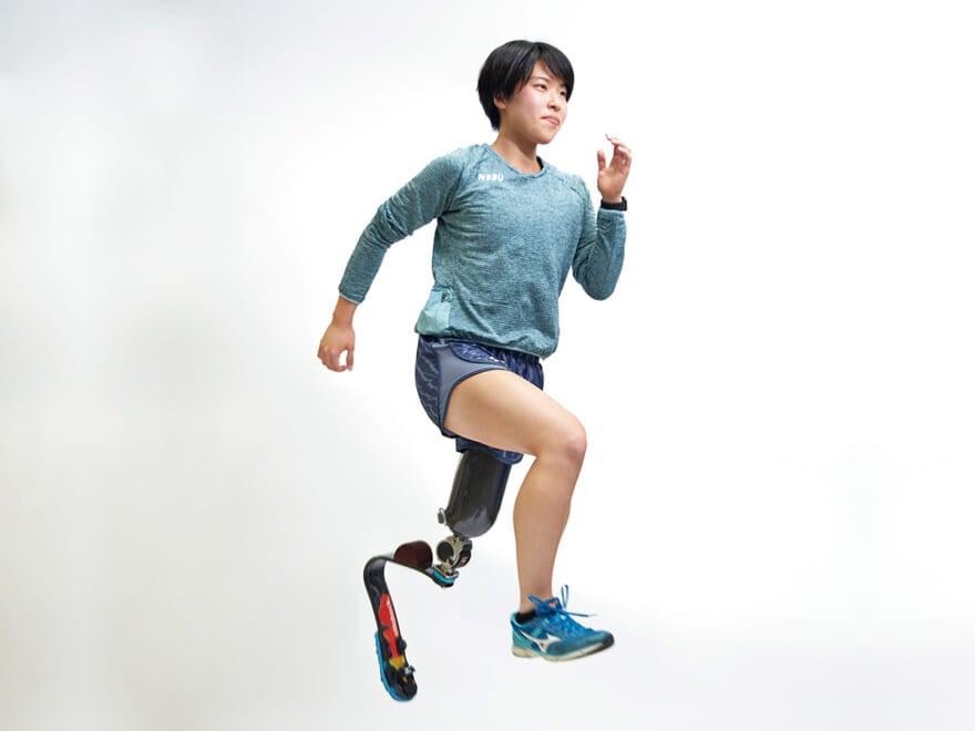 競技歴3年で日本代表に! パラ陸上の新星・兎澤朋美は未経験で体育大に飛び込んだ