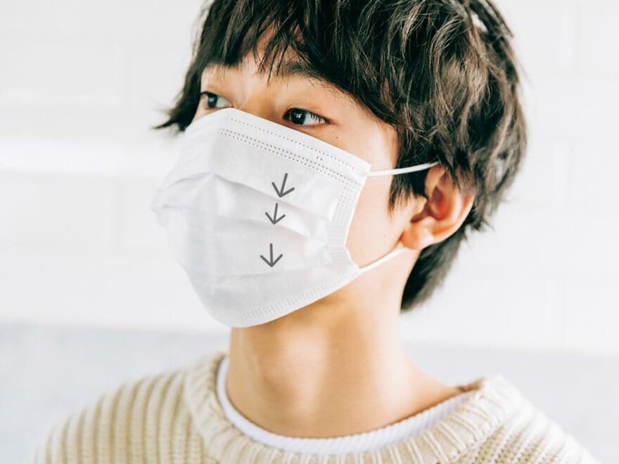 付け方 正しい マスク の