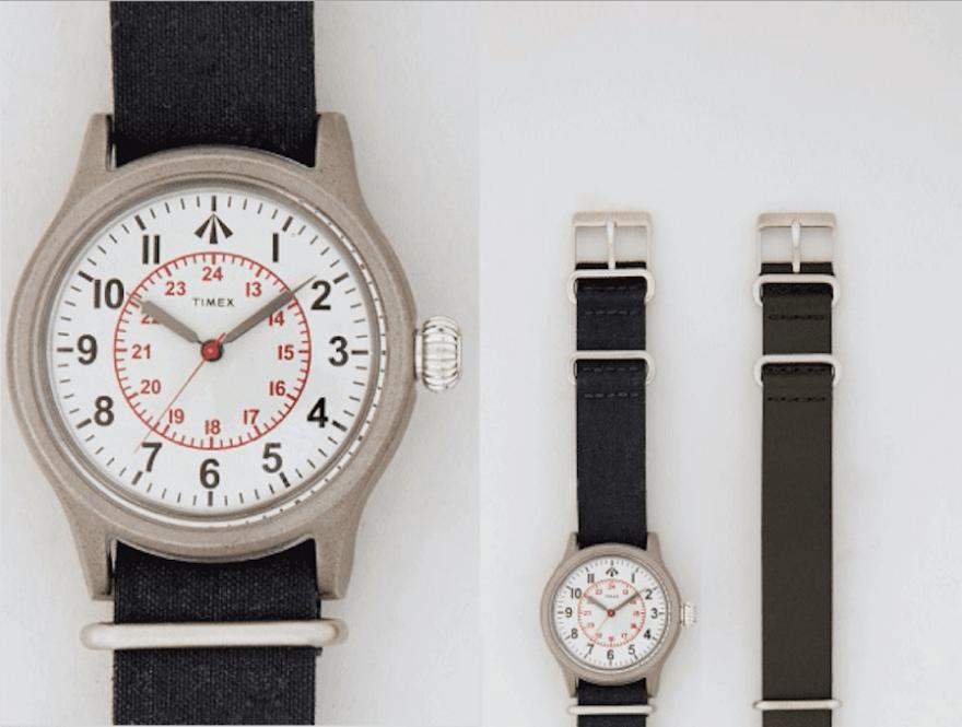 【2万円台】TIMEXの新作コラボ腕時計は旬のミリタリーテイスト!